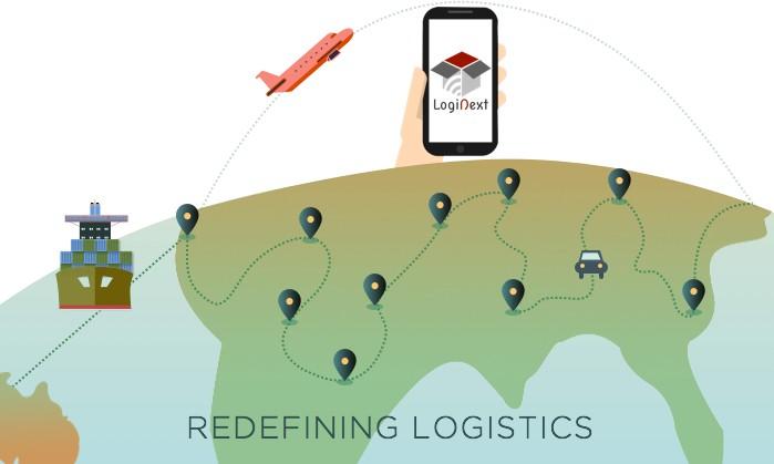 Redefining Logistics Infographic