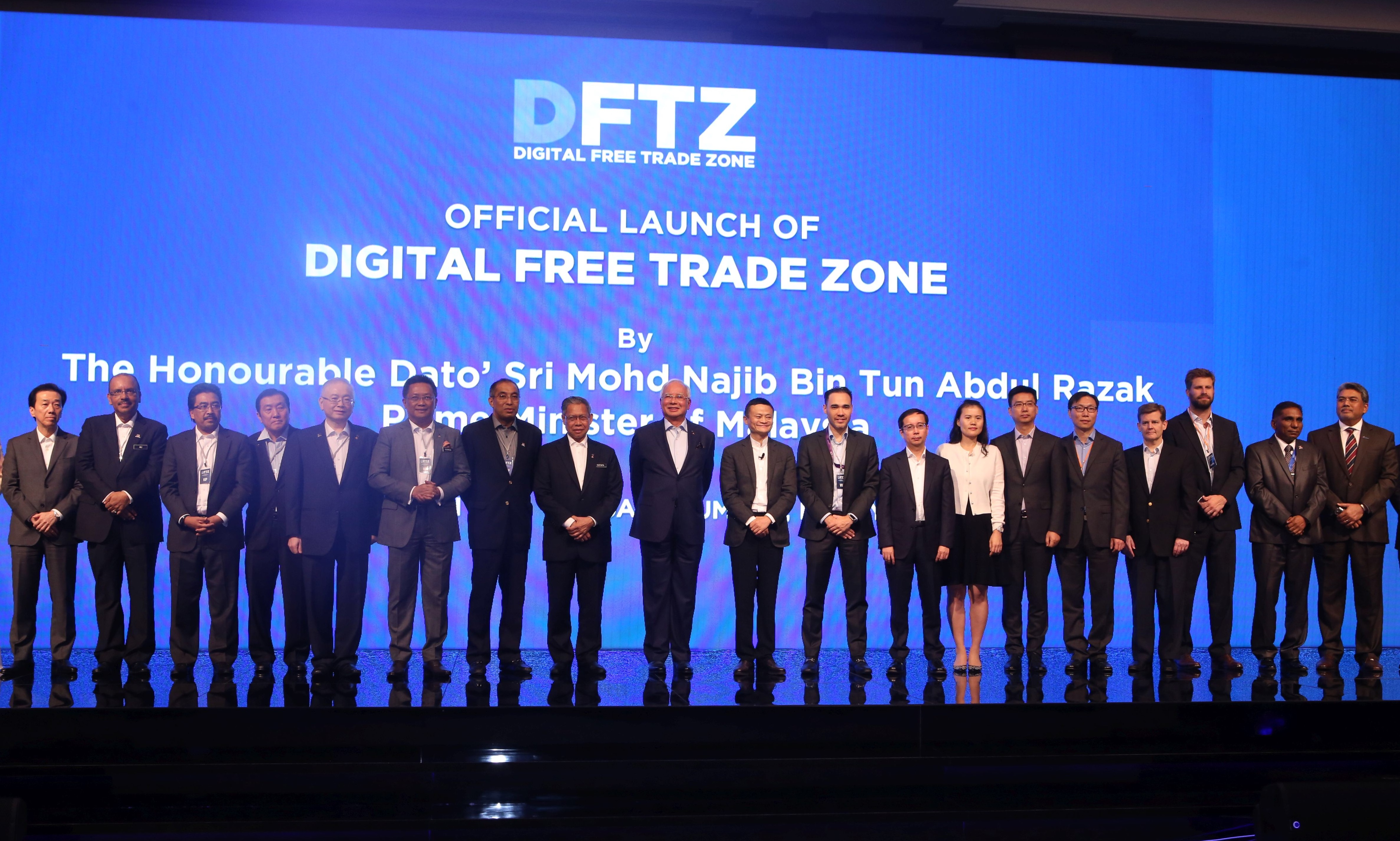 Jack Ma Alibaba Digital Free Trade Zone Malaysia