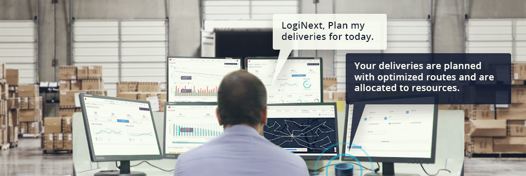 Voice Controlled Planning and Routing for Logistics Management
