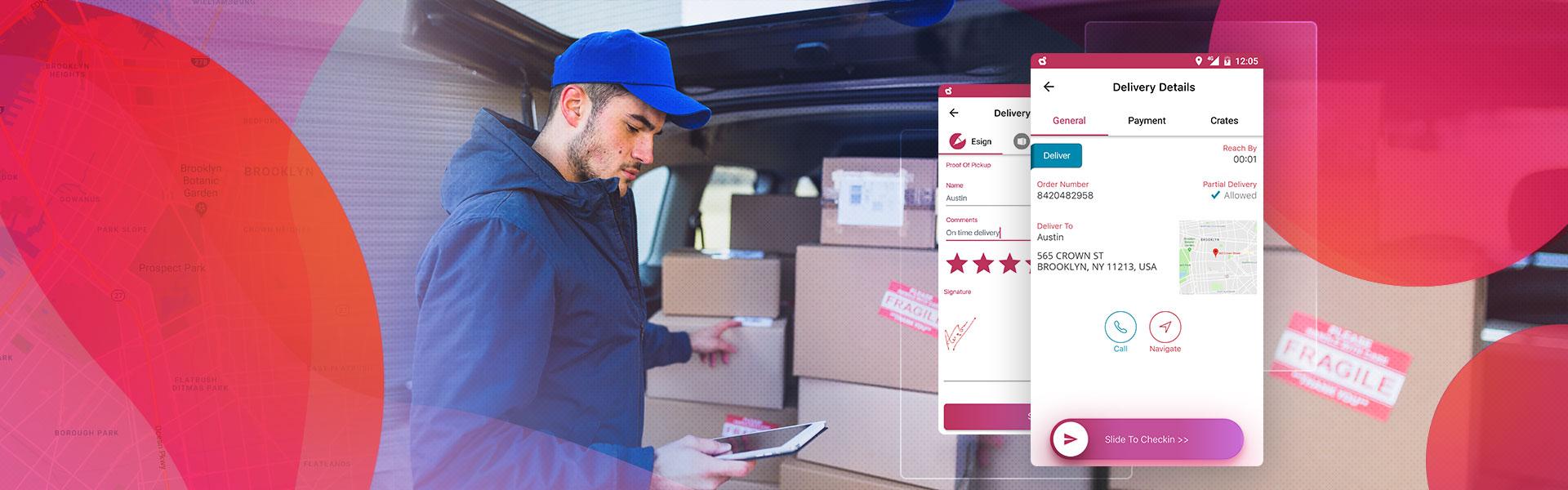 Feature Snapshot! App-Driven Last Mile Delivery Optimization