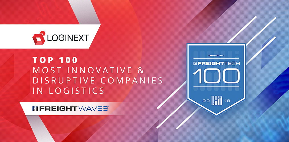 FreightWaves names LogiNext in top 100 innovative and disruptive tech companies