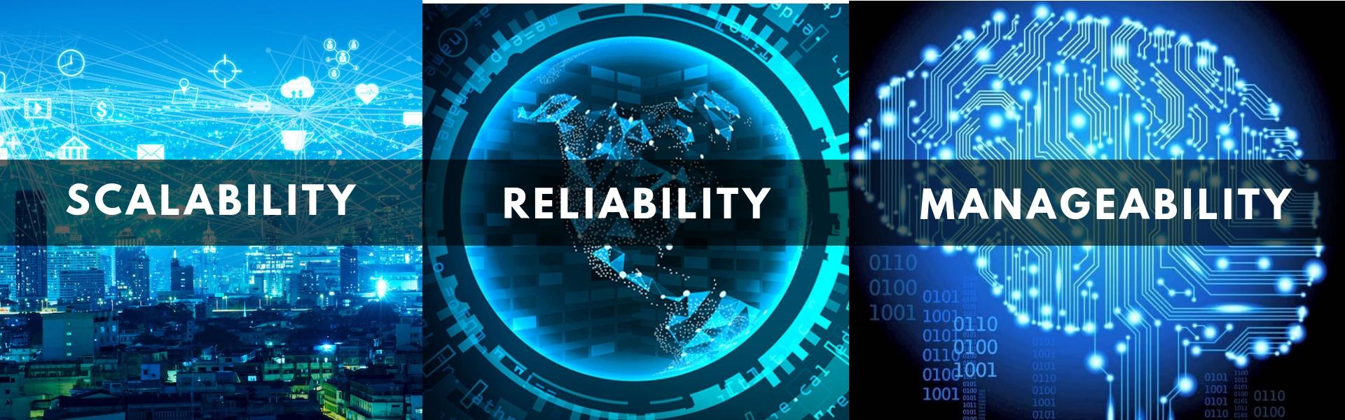 Scalability Reliability Manageability