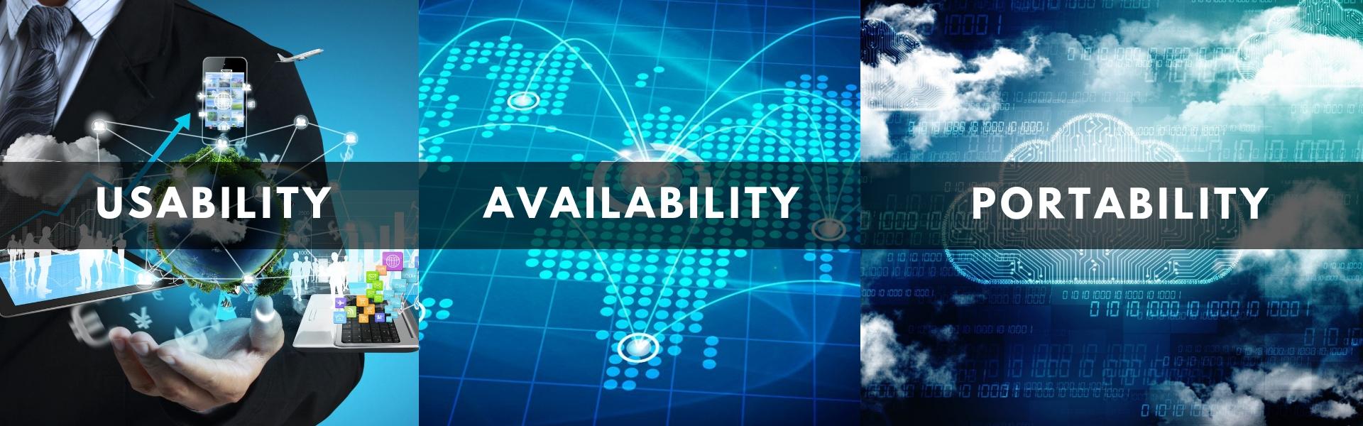 Usability Availability Portability