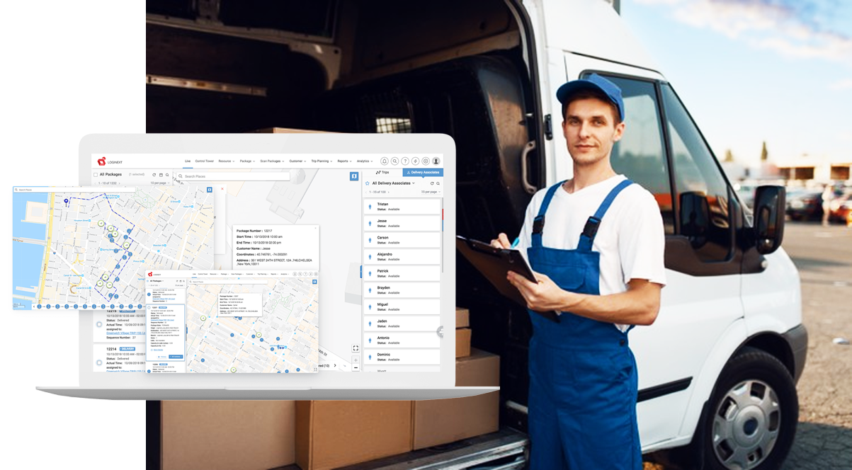 Relevance of postal networks