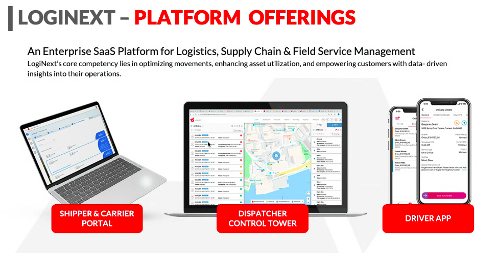 LogiNext Platform Offerings