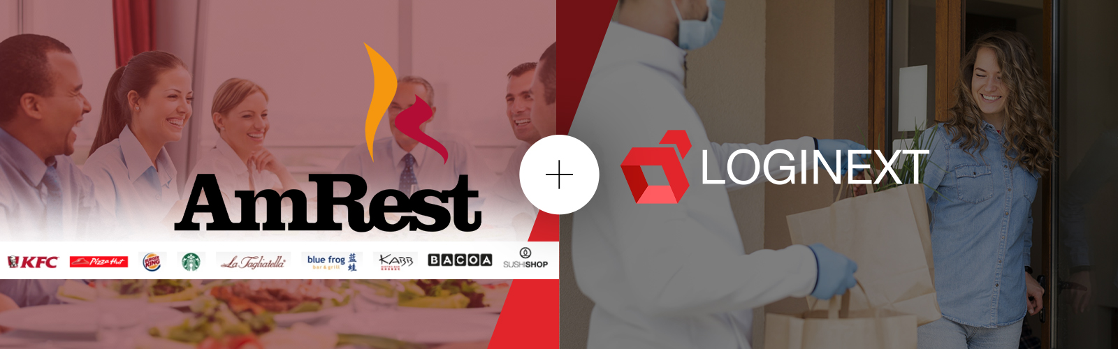 LogiNext AmRest Partnership