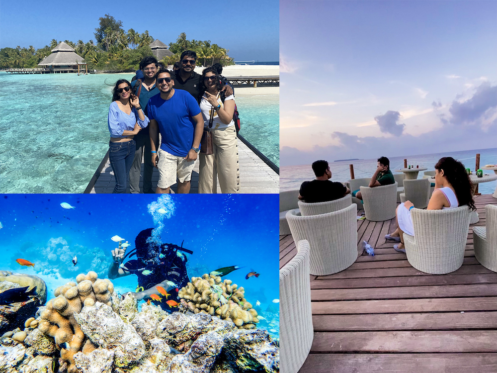 Water Sports at LogiNext Workation 2021 in Maldives