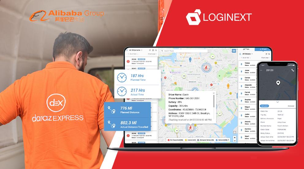 Alibaba Daraz LogiNext