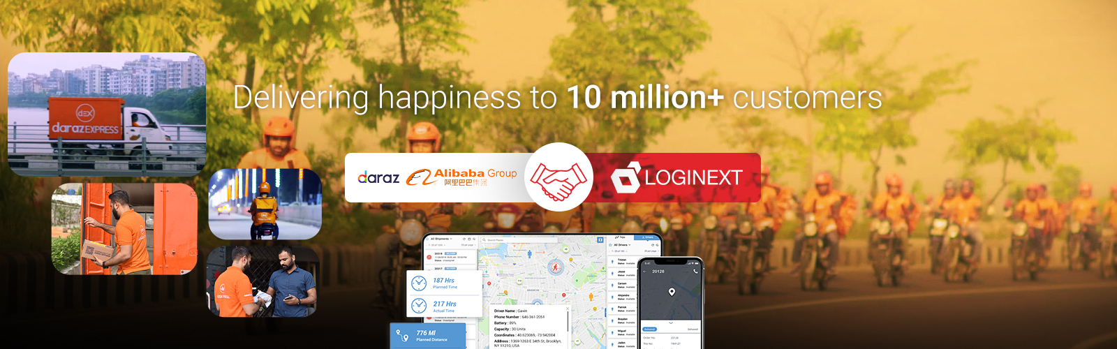 Alibaba backed Daraz creates Asia's largest eCommerce carrier aggregation network with the use of LogiNext