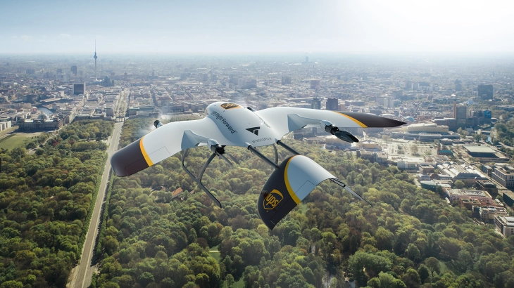 UPS Drone last mile delivery