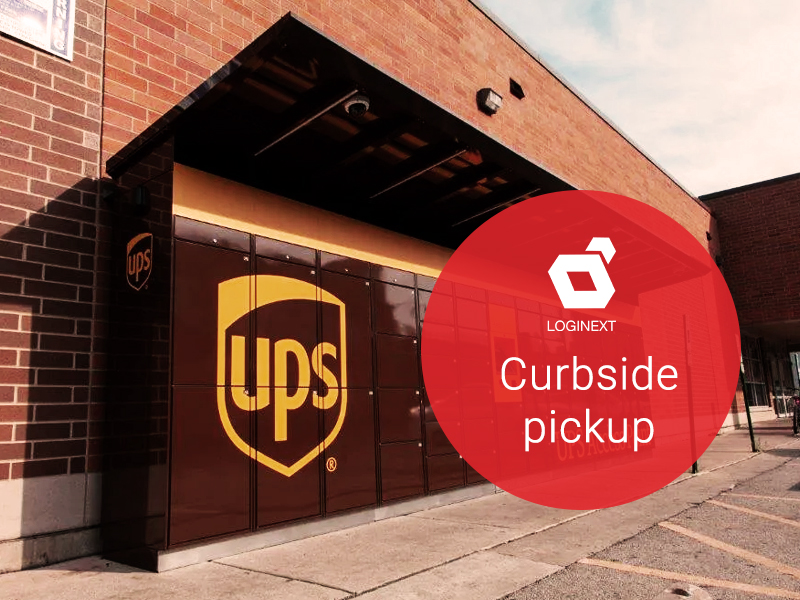 Enterprises offering curbside pickups