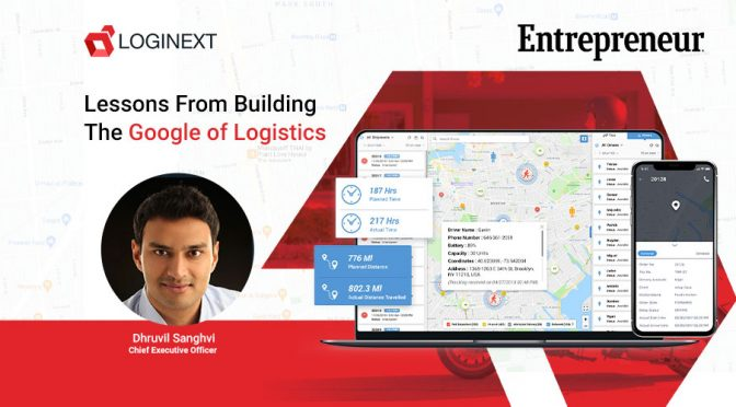 Lessons from building the Google for Logistics Technology
