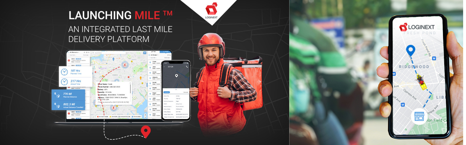 LogiNext launches MILE: America's first integrated last mile delivery platform