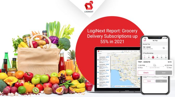 [LogiNext Report] Enrolment in grocery delivery subscriptions up 55% in 2021